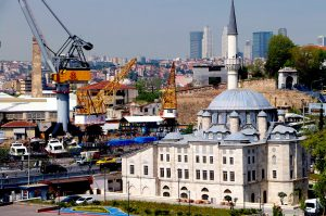 Werft in Türkeit