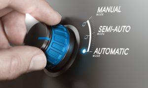 Automatik Schaltknopf