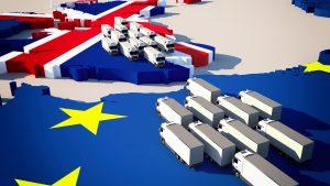 LKWs von EU Richtung Großbritannien und vice versa