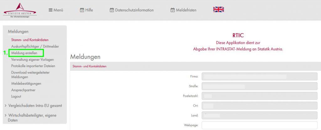 Webportal der Statistik Austria